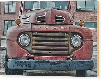 Ford 4623 Wood Print by Guy Whiteley
