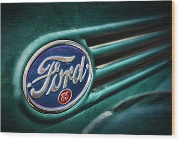 Ford 85 Wood Print by Caitlyn Grasso