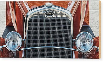 Wood Print featuring the photograph Ford Coupe by Brad Allen Fine Art