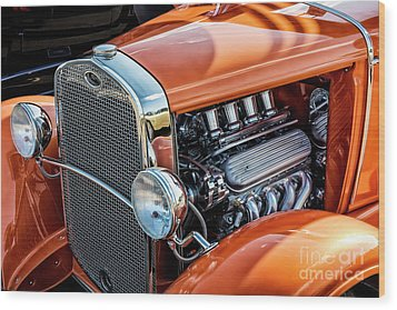 Wood Print featuring the photograph Ford Coupe II by Brad Allen Fine Art