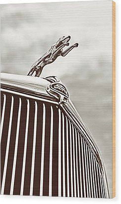 Ford Greyhound Wood Print by Caitlyn Grasso