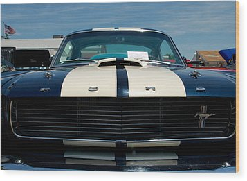 Ford Mustang 2 Wood Print