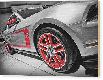 Ford Mustang Boss 302 Wood Print by Gordon Dean II