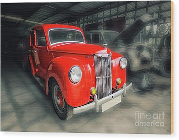 Wood Print featuring the photograph Ford Prefect by Charuhas Images