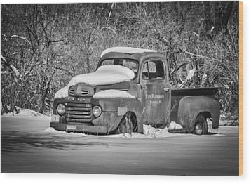 Ford Truck 2016-1  Wood Print by Thomas Young