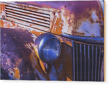 Ford Truck Wood Print by Garry Gay