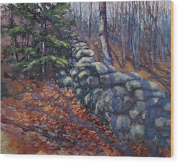 Forest Wall Wood Print