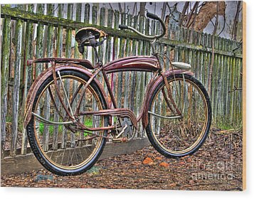 Wood Print featuring the photograph Forgotten Ride 1 by Jim and Emily Bush