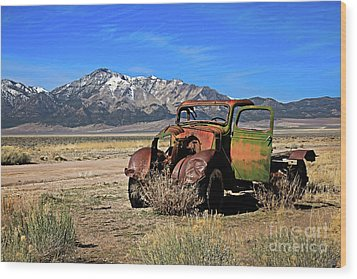 Wood Print featuring the photograph Forgotten by Robert Bales