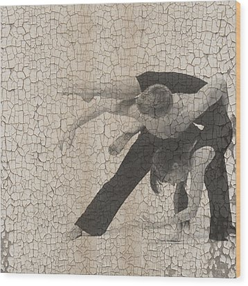 Forgotten Romance  Wood Print by Naxart Studio