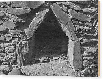 Forgotten Stone Oven In Alentejo Wood Print by Angelo DeVal