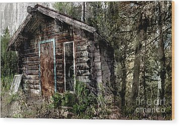Forgotten Wood Print by Tlynn Brentnall