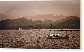 Fornells Bay In Menorca Island - Even Most Beautiful Places Have Secrets To Hide By Pedro Cardona Wood Print