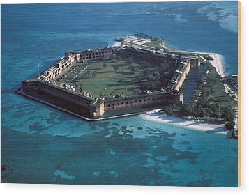 Fort Jefferson Wood Print