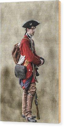 Fort Ligonier Sentry  Wood Print by Randy Steele