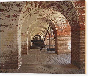 Fort Pulaski II Wood Print