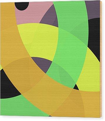 Forty -circle- Wood Print