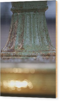 Fountain II  Wood Print by Dustin K Ryan