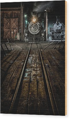 Four-eighty-two Wood Print by Jeffrey Jensen