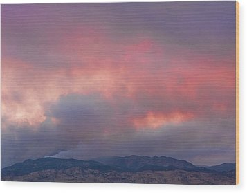 Fourmile Canyon Fire Image 90 Wood Print by James BO  Insogna