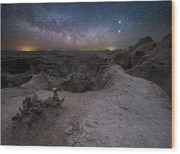 Wood Print featuring the photograph Fractured  by Aaron J Groen