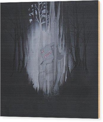 Fragile Wood Print by Konrad Geel