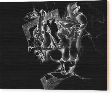 Framed Inverted Wood Print by Bodhi