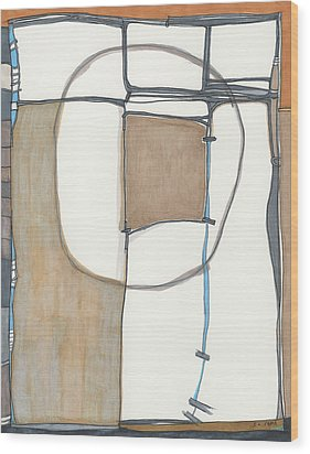 Framed Wood Print by Sandra Church