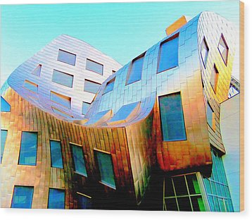 Frank Gehry 9 Wood Print