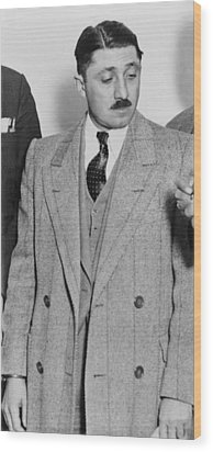 Frank Nitti 1881-1943 Chicago Gangster Wood Print by Everett