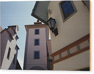 Frankenmuth Village Michigan Wood Print by Lois Lepisto
