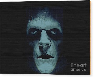 Wood Print featuring the photograph Frankenstein by Janette Boyd