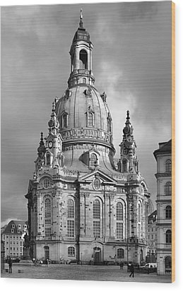 Frauenkirche Dresden - Church Of Our Lady Wood Print