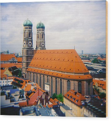 Frauenkirche Munich  Wood Print by Kevin Smith