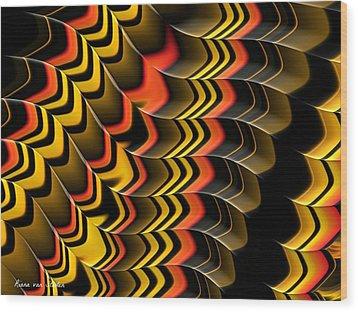 Frax Patterns Wood Print