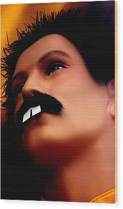 Freddy Mercury 3 Wood Print by Jez C Self