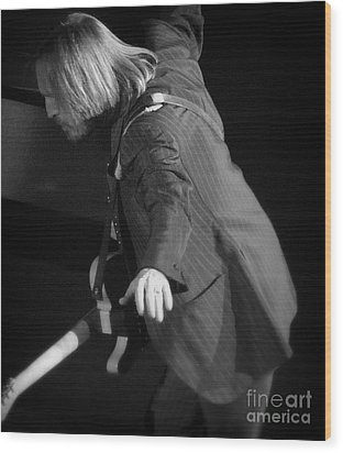 Free Fallin' - Tom Petty Wood Print by J J  Everson