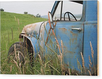 Free Parking Wood Print by Doug Hockman Photography