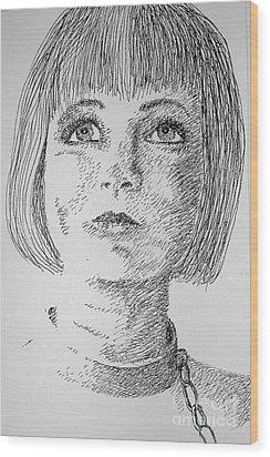 Free Will Wood Print by Tanni Koens