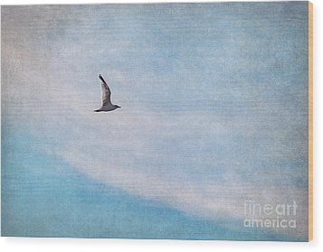 Freedom Wood Print by Angela Doelling AD DESIGN Photo and PhotoArt