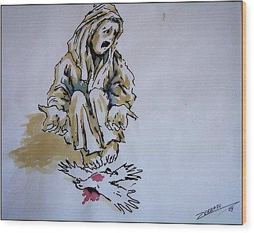 Freedom Dead Wood Print by Paulo Zerbato