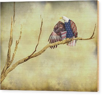 Wood Print featuring the photograph Freedom by James BO Insogna