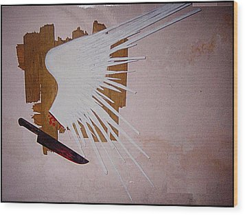Freedom Of Expression Wood Print by Paulo Zerbato