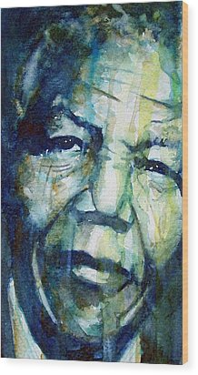 Freedom Wood Print by Paul Lovering