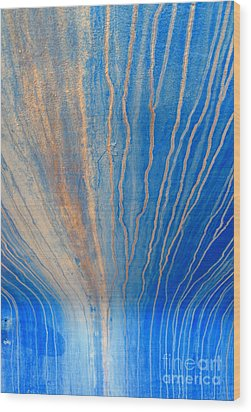 Freefall Wood Print