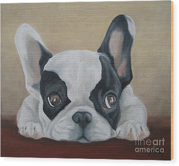 French Bulldog Wood Print