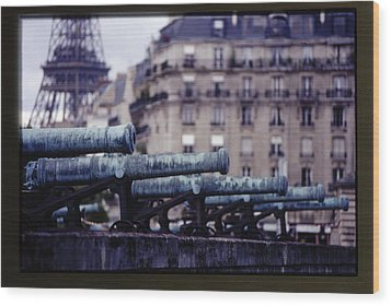 French Canons Wood Print by Don Wolf
