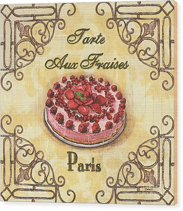French Pastry 1 Wood Print by Debbie DeWitt