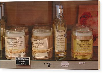 Wood Print featuring the photograph French Scent by Richard Patmore