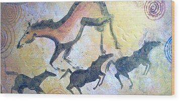 Fresco Wood Print